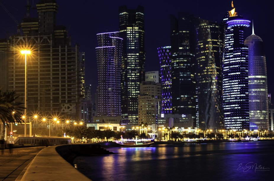 A main city of Qatar