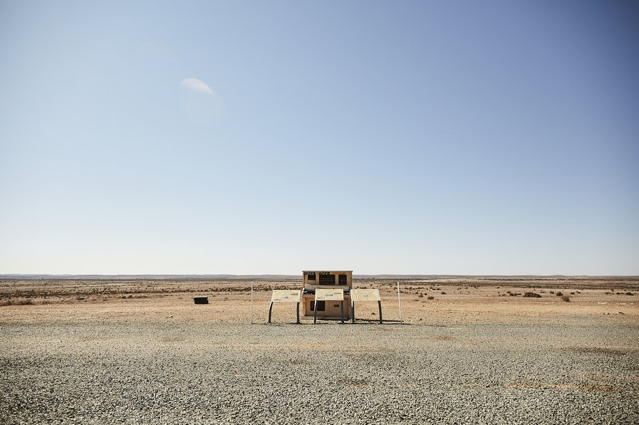 Piano in the outback - Tibooburra, NSW
