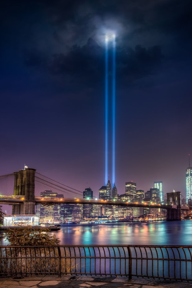 Tribute in Light by alexanderhill - The Blue Color Photo Contest 2018