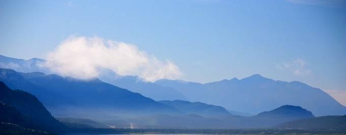 Blue Shadow Mountains