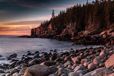 Boulder Beach, Acadia National Park