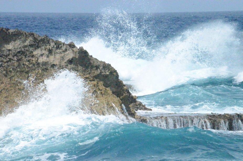 Photo taken in Aruba along the north shore.