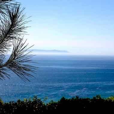 Catalina Island view from Rancho Palos verdes