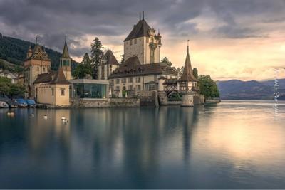 La paz en el lago. Suiza
