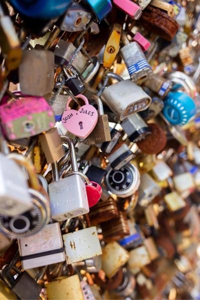 Love Locks in the City