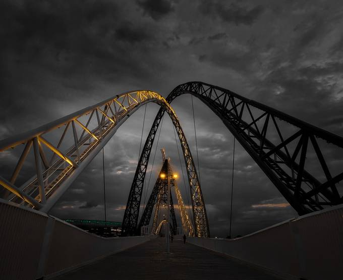 #0062 Matagarup Bridge crop ll by Rmonty119 - Simple Architecture Photo Contest