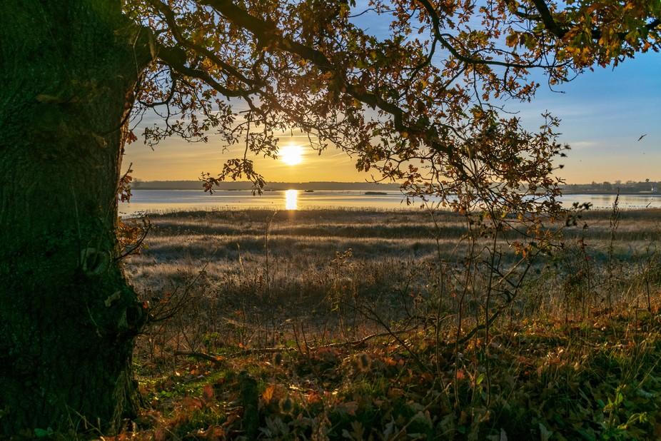 Sunrise at Blythburgh, Suffolk