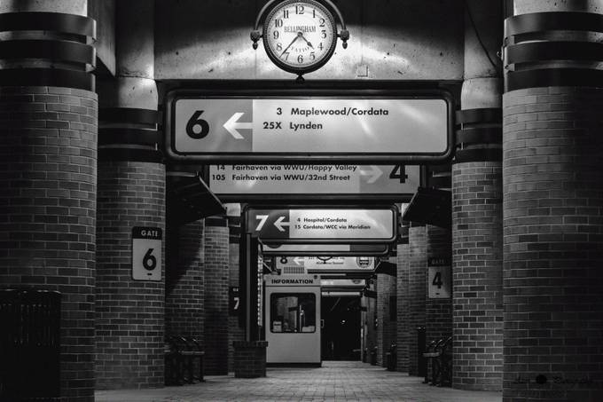 The Early Depot WM by adriano74 - Public Transport Hubs Photo Contest