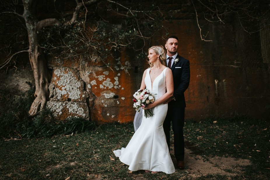 Married on the first day of spring in Sydney.
