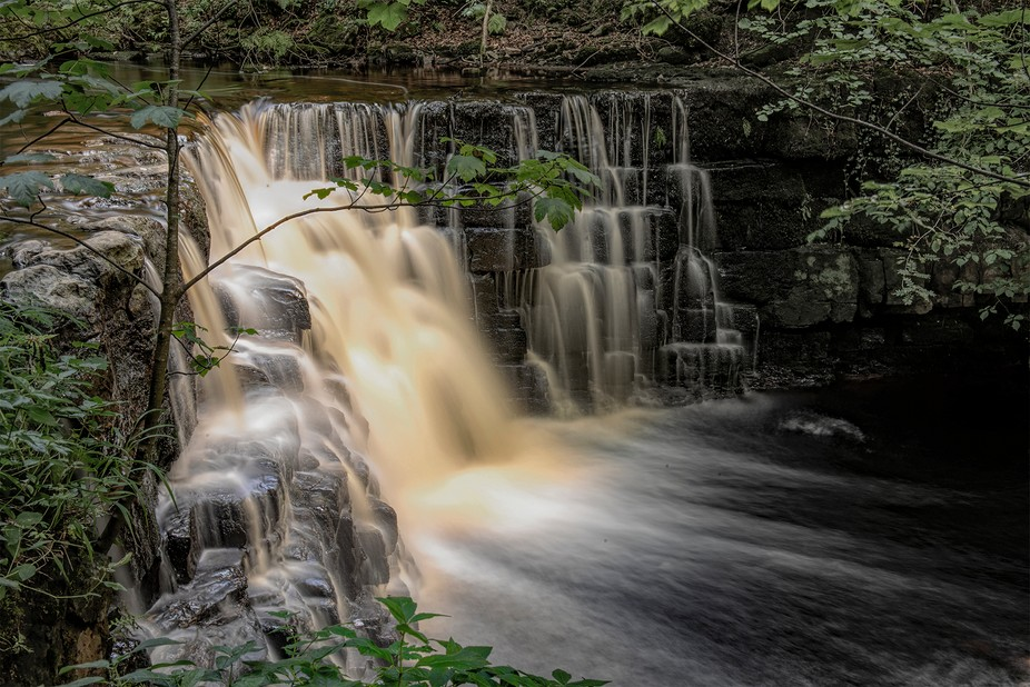 Another view of an un-named waterfall, I did try removing  the branch in the image  but wasn&...