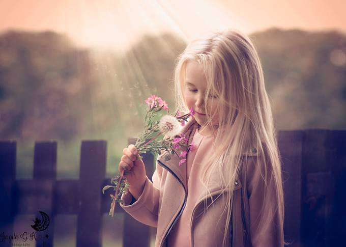 The dandelion girl <3 by jurgitagrabskaitekalinauskiene - Monthly Pro Photo Contest Vol 45