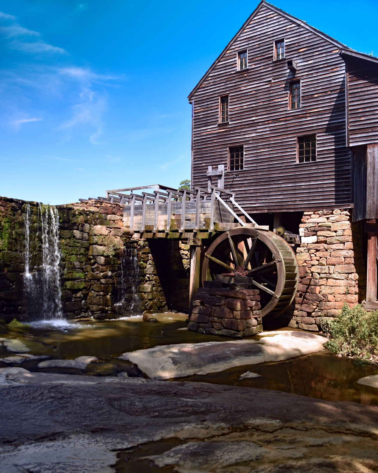 Yates Mill; Raleigh; North Carolina
