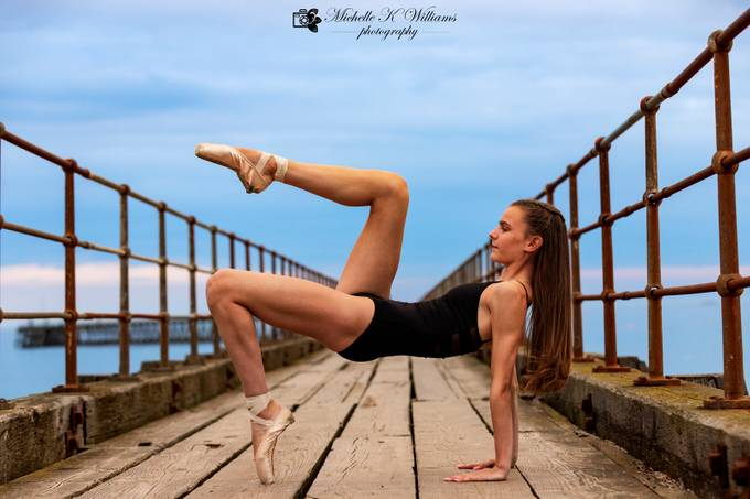 Dancer pose by MichelleKwilliams - Health And Fitness Photo Contest