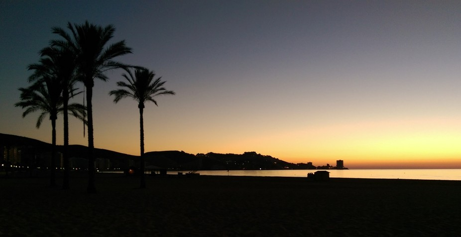 Sunrise at Cullera