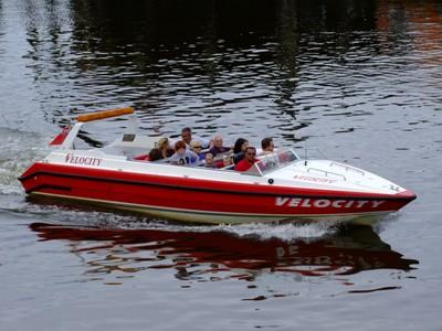 "Whitby, River Esk, Pleasure Boat, ""Velocity"", I"