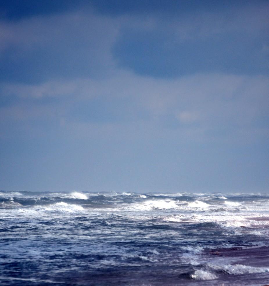 Composed from the shoreline of Vilano Beach, Florida