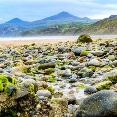 Nefyn beach, Wales.