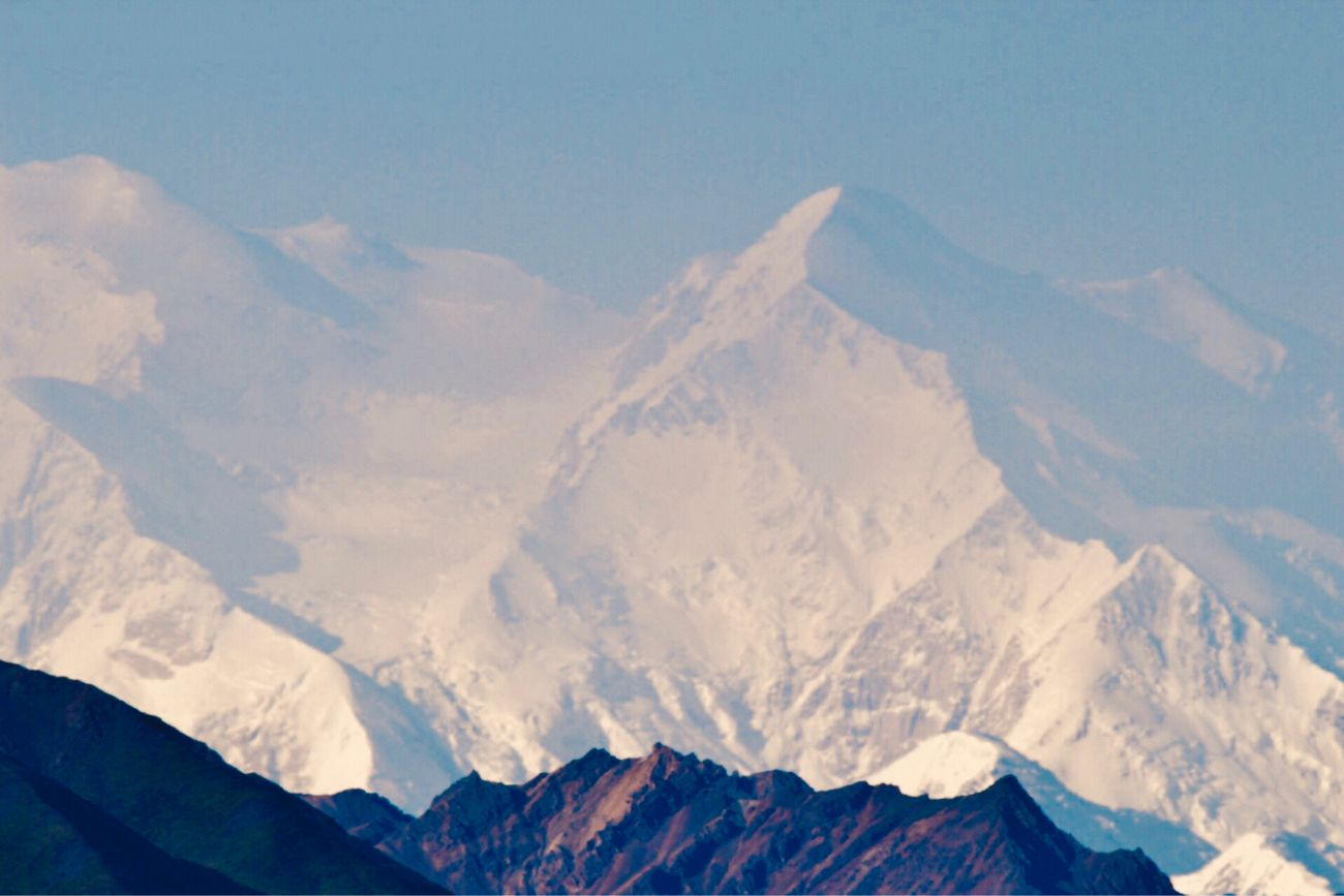 Denali. One Mountain, Two Names. It wasn't until 8/28/2015, Secretary Jewel signed the order to rename Mt McKinley to Denali. Still referred by both names, Denali is the true legacy of the Last Frontier. I was in awe as she came into view. Only 1:3 people