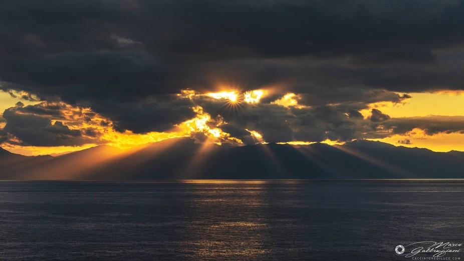 Sunset on the Elba 1