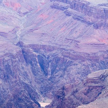 Grand Canyon, and yeah, it's deep. When you're standing there looking at it, it almost looks fake. This was my first time there, what a sight!