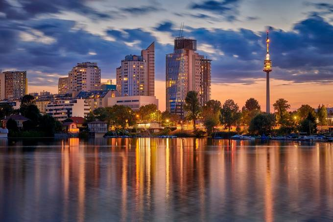 The last summer night by silviugheorgheionut - Bright City Lights Photo Contest