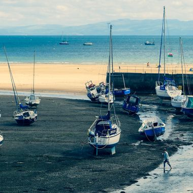 Abersoch harbour, Wales.