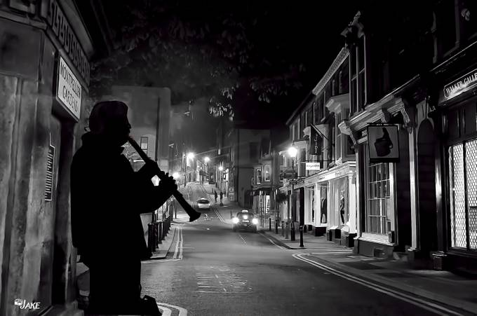 Nightime Serenade by redwriter - Our World In Black And White Photo Contest