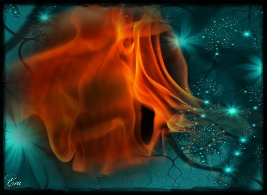 Phantasie mit Feuer
