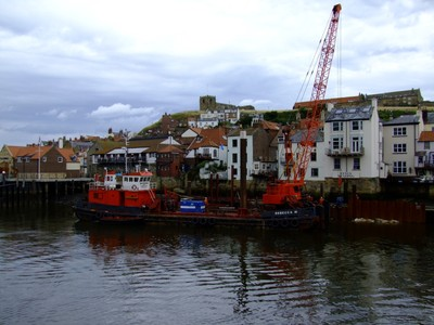 "Whitby, River Esk Workboat, ""Rebecca M"""