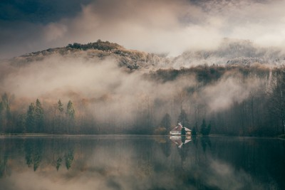 Mogosa lake, Romania