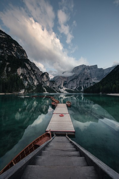 Braies reflections