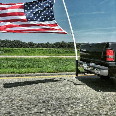 Patriot on the Move (color)