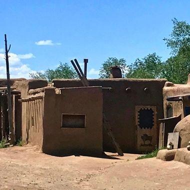 Pueblo of Taos Historical Marker  copy
