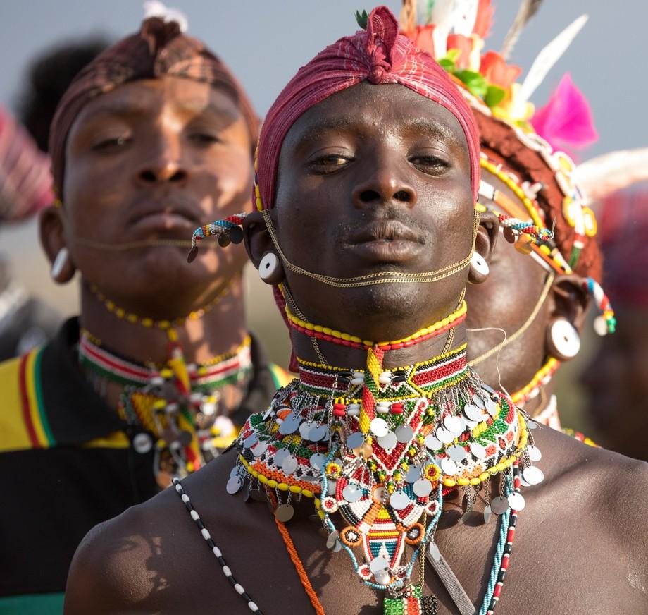 Proud Masai (wedding)