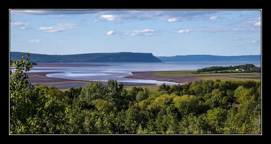 This photo was taken from one of the Wolfville NS reservoirs which gave a nice viewpoint.