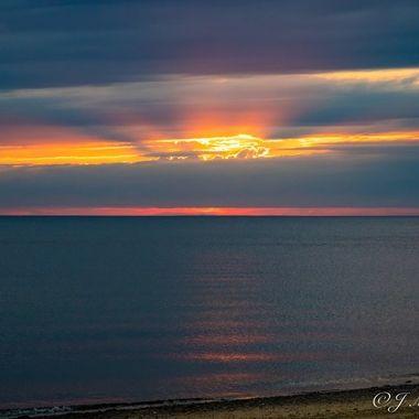 Herring Cove Cloudy Sunset