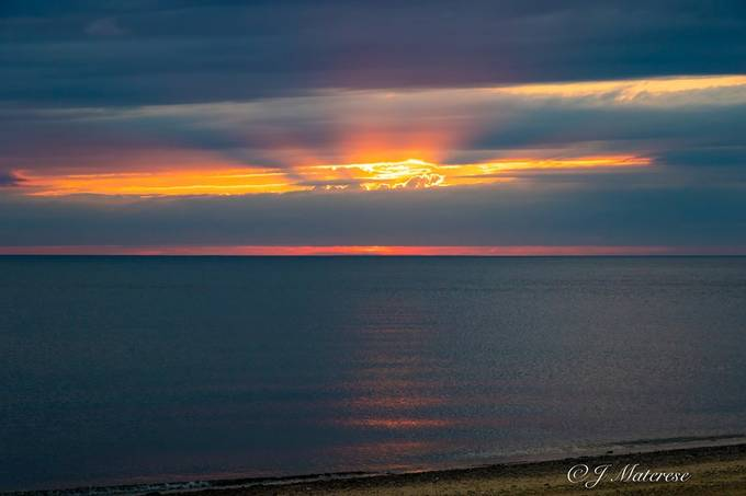 Herring Cove Cloudy Sunset