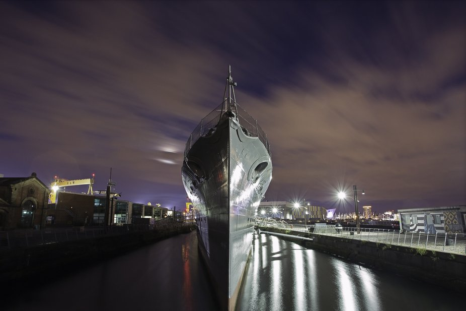 HMS Caroline is a decommissioned C-class light cruiser of the Royal Navy that saw combat service ...