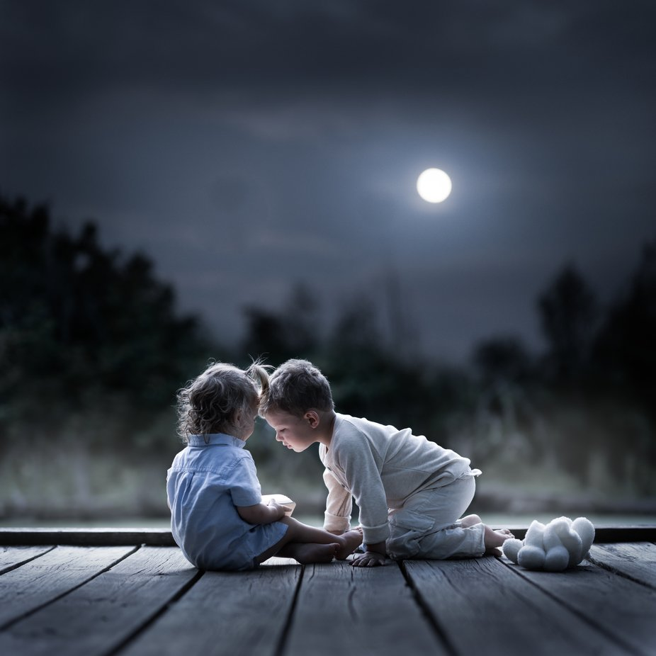 moonlight  by Iwona - Night Wonders Photo Contest