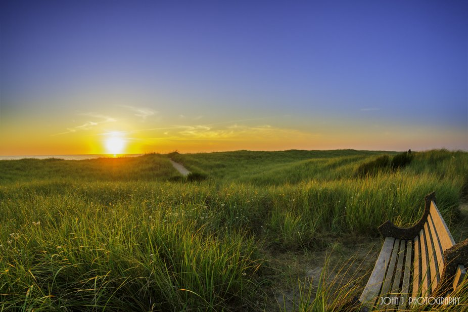 Bench & Sunset