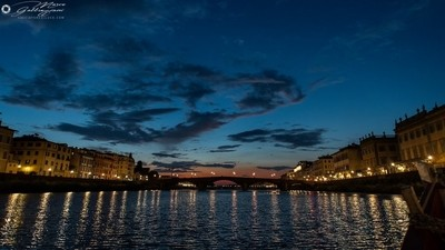 One evening, sailing on the Arno 11