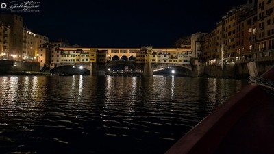 One evening, sailing on the Arno 10