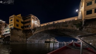 One evening, sailing on the Arno 9