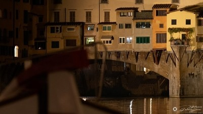 One evening, sailing on the Arno 8