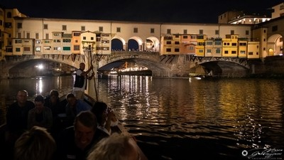 One evening, sailing on the Arno 7
