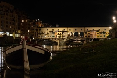 One evening, sailing on the Arno 6