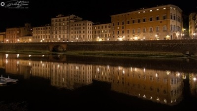 One evening, sailing on the Arno 5