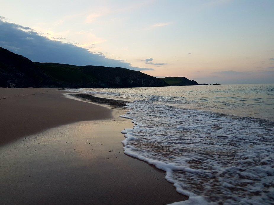 Sango Sands Beach, Durness in Scotland