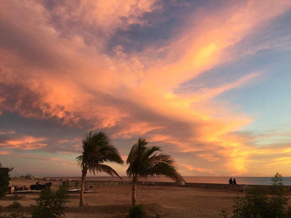 Los Barriles sunset