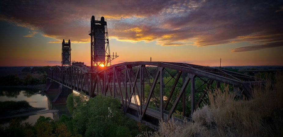 Fairview Train Bridge